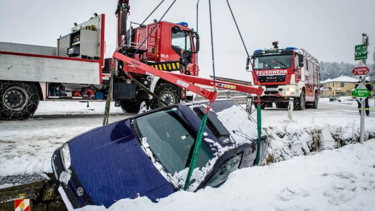 Fahrzeugbergung in Fluttendorf