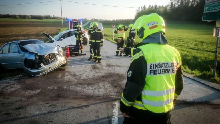 Verkehrsunfall in Gießenberg