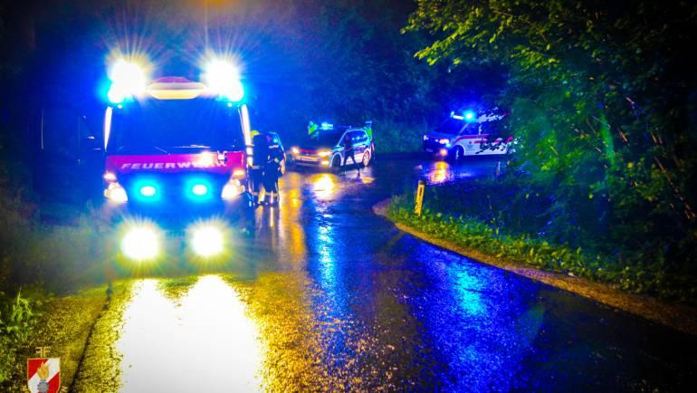 Verkehrsunfall auf der L667