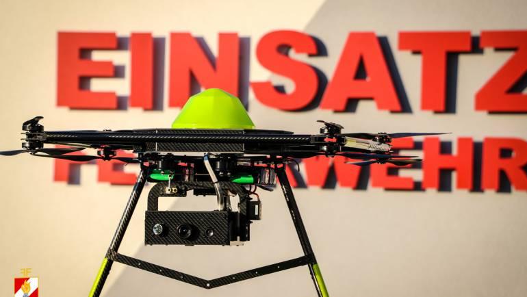 Blaulicht-Drohnen-Experience