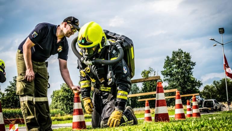 SKG: Atemschutzträger am Prüfstand!
