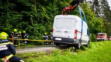 Schwierige Fahrzeugbergung in Oberzirknitz!