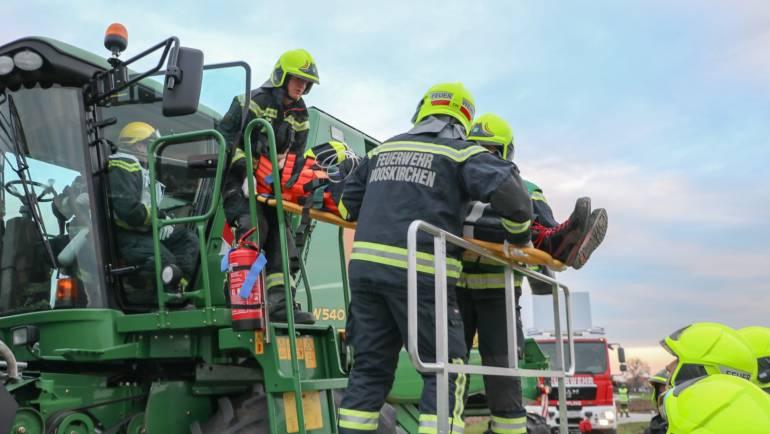 Katastropheneinsatz bei Abschnittsübung