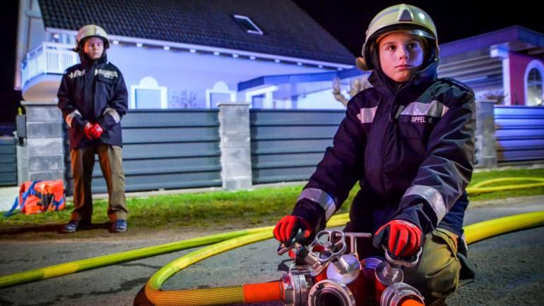 Feuerwehrjugend im Übungseinsatz!