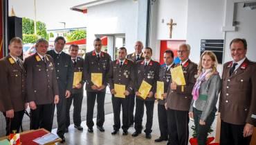 Vier Kameraden der FF-Mooskirchen ausgezeichnet!