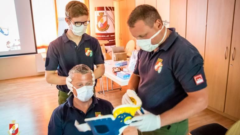 Restart des Ausbildungsjahres: Sanitätschulung!