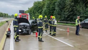 Verkehrsunfall A2 Richtung Graz