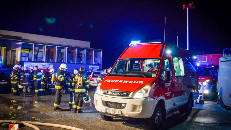 Großbrand in Rosental
