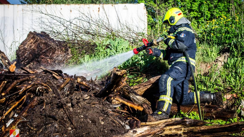 Brandeinsatz am Mutterag