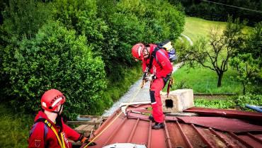 Sturmeinsätze – Teile von Gießenberg schwer getroffen