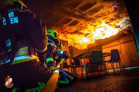 Heißes Wochenende – Brandausbildungen