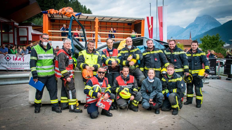 Feuerwehr Mooskirchen bei den THL-Tagen 2017 in Inzing (Tirol) erfolgreich!