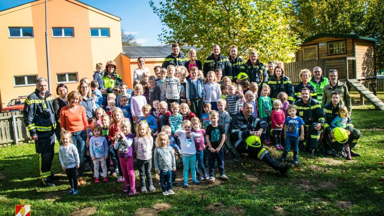 Kindergarten Mooskirchen: Räumungsübung