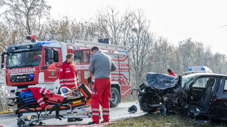 Dramatischer Verkehrsunfall