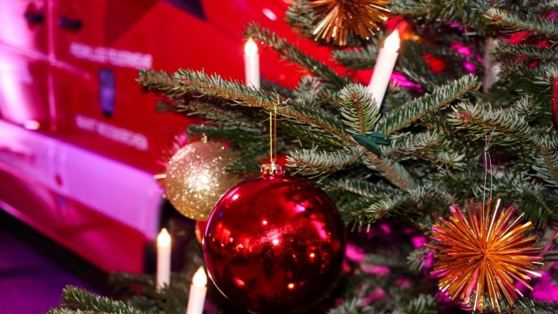 Weihnachtsfeier & Fahrzeugsegnung