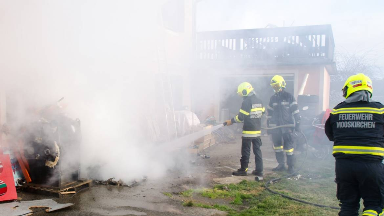 Wohnhausbrand Edenberg