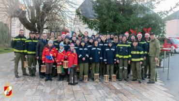Feuerwehrjugend brachte das Friedenslicht!