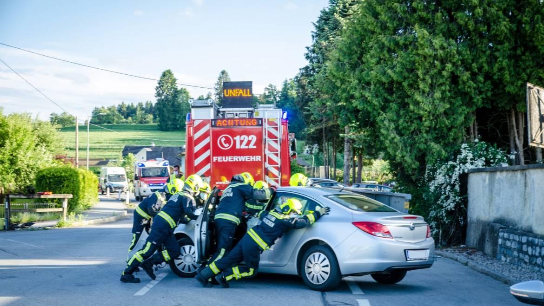 Schwere Kollision auf der L340 – Kreuzung Kainachstraße