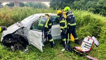 Fahrzeugüberschlag – schwerer Verkehrsunfall auf der A2