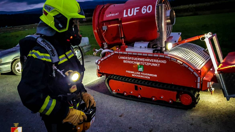 LUF60 Training unter Atemschutz!