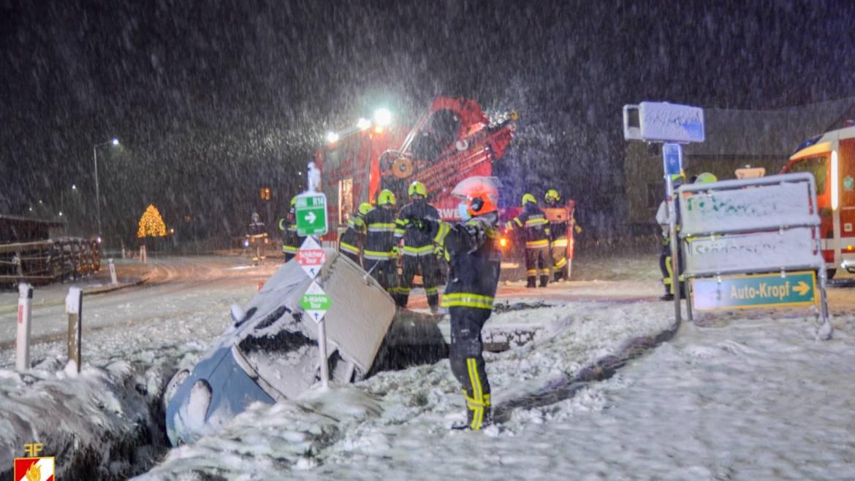 Mehrere Einsätze durch starken Schneefall