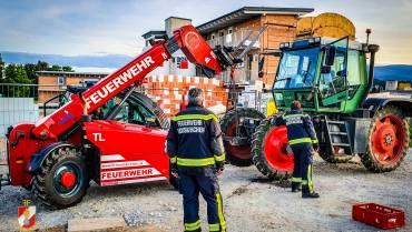 Öleinsatz – Hydraulikschaden an einem Traktor