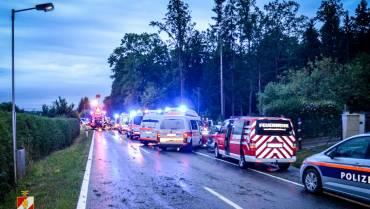Folgenschwerer Verkehrsunfall auf der B70!