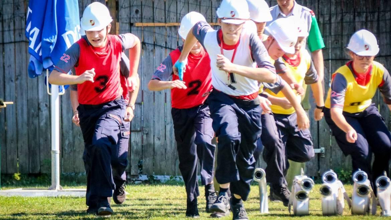 Erfolgreiche Feuerwehrjugend! – Leistungsbewerb in Preding (DL)